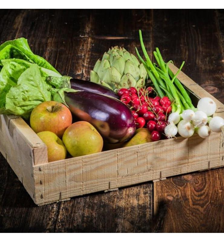 Panier fruits et légumes surprise entreprise 8kg