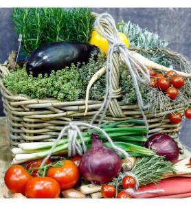 Panier fruits et légumes...